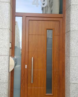 Portal Edificio PVC