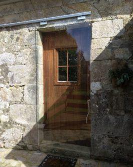 Puerta corredera cristal Casa Rural